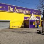 Bazaar Beverwijk - Entree en kassa tenten