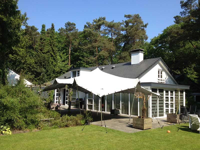 Bruiloften ceremonie en of feest culinaire evenementen podiumoverkappingen terras lounge - Tent voor terras ...