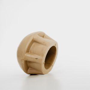 Rubber dop paal large 60mm voor houten en aluminium paal