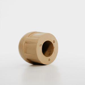 Rubber dop paal medium 50mm voor houten en aluminium paal – per 20 stuks