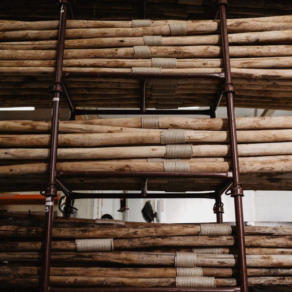 Palenset 2,5m hout