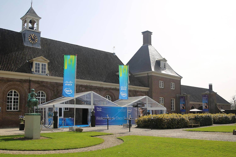 Creative tent systems standaard aluhallen